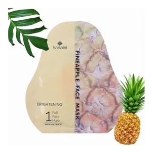 Pineapple brightening face mask